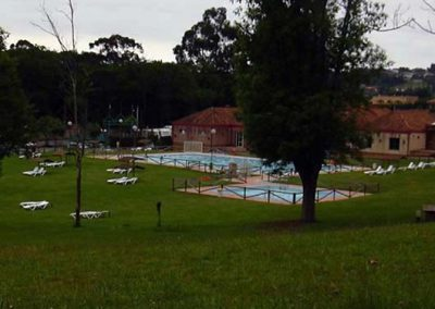 Camping Deva Gijon swimming pool