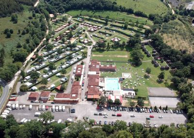 Camping Deva Gijon panoramic views