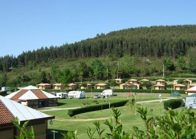 Camping Deva Gijón long stay plots