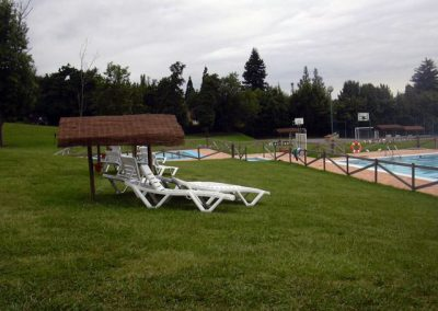 Camping Deva Gijón swimming pool